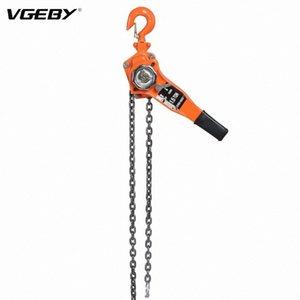 1 Set Aço Liga 1.5ton 10 pés Lever talha Ratchet Extrator de elevação Equipamento Ratchet Pulley Hoist Lever Cadeia Extrator 4T9L #