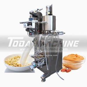Water pouch liquid packing machine to fill bottle shape bag for water