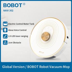 BOBOT NAVI 302 Робот пылесос 2020 Upgrade 2700 PA Мощный всасывания 380 мл Большой с электронным управлением Резервуар для воды