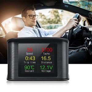 2020 P10 Smart Digital HUD Head Up Display OBD2 Car Speed Projector car dvd