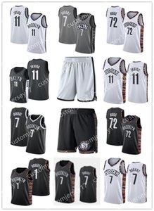 NCAA بروكلينشبكات7 ديورانت 11 ايرفينغ 72 بيغي 1 راسل المدرسة الثانوية كيفن Kyrie كلية جيرسي الفانيلة مدينة كرة السلة