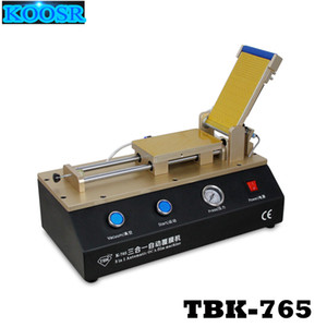 TBK-765 3 in 1 Automatic OCA Film Laminating Machine Built-in Vacuum Pump and Air Compressor For Mobile Phone LCD Screen Repair