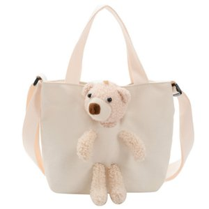 Cute Handbag Mini Children New Purse Tote Kids School Girls Bags Baby Hand For Canvas Cartoon Crossbody Small Idere