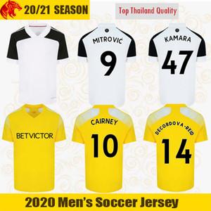 20 21 فولهام لكرة القدم الفانيلة قميص ميتروفيتش 2020 2021 KEBANO KAMARA كرة القدم BRYAN KNOCKAERT ديكوردوفا-REID كيرني جيرسي