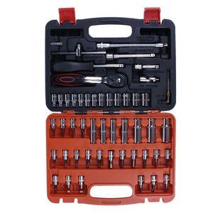 Mécanique automobile Tool Set Box Case Auto Moto Accueil de réparation Kit 53 pièces