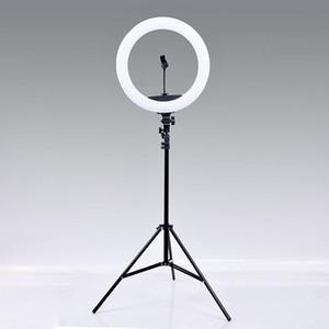 التصوير الفوتوغرافي LED Selfie Ring Lights 10 بوصة 26 سنتيمتر مصباح كاميرا الهاتف حلقة الهاتف الليلة فلاش مع 160 سنتيمتر حامل ترايبود ل ماكياج فيديو لايف