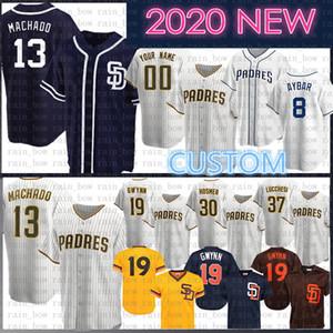 2020 novo costume 23 Fernando Tatis Jr. 13 Manny Machado Baseball Jersey Tony Trevor Hoffman Chris Paddack Eric Hosmer Jurickson Margot Meyers