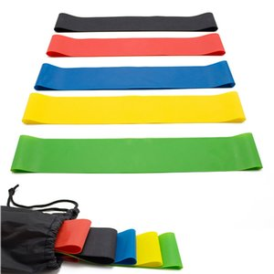 Resistance Band Fitness Elastic Bands for Fitness Training Workout Rubber Loop for Sports Yoga Pilates Crossfit Stretching