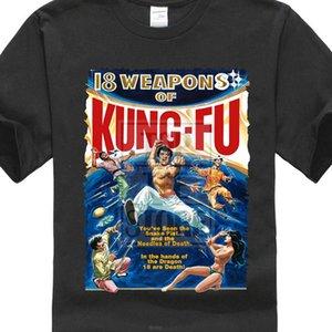 18 Weapons Of Kung Fu 1976-T-Shirt Alle Größen S bis 4XL