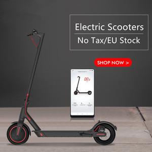 Deutschland Stock Smart-APP Steuerung Folding Elektro-Scooter 8,5 Zoll Bluetooth Ebike Lenkradselbst Gleichgewicht Elektro-Fahrrad-Roller
