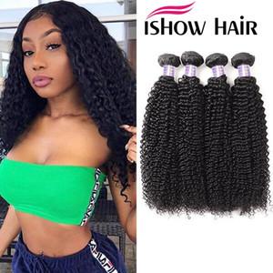 Ishow Mink Brazilian Body Wave Human Hair Bundles Straight Deep Water Unprocessed Human Hair Extensions Brazilian Body Hair Weave Bundles