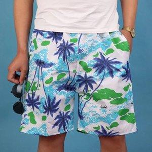 Nuovo pantaloncini Caviglia-lunghezza Beach pantaloni surf degli uomini della spiaggia ad asciugatura rapida pantaloncini estivi alla deriva pantaloni loose ritagliate O7koP