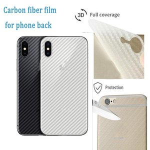 Cgjxscheap Soft Back Side 3d Carbon Fibre Protective Film For Iphone 11 Xr Xs Max 7 8 Plus For Samsung Note 10 S10 Plus
