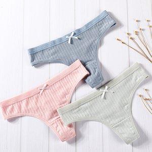 Temmuz'S SYJJF Kadın Pamuk Strings Kızlar Bayan İç Çamaşırı Katı Casual Bayan Rahat SeamlUnderpants Külot