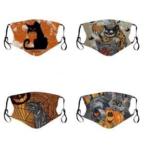 Ultrathin Masque d'été Masques de camouflage bouche Camo Imprimer Masque Visage EarloopAnti-poussière pour homme et femme MK46 # 890