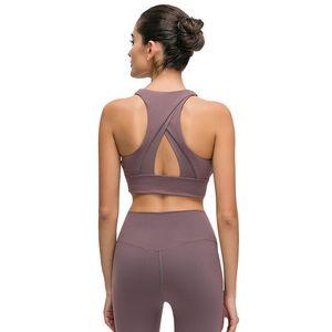 sport soutien-gorge yoga lou double face support brocart dos de beauté cardiaque sous-vêtements fiitness séance d'entraînement athlétique antichocs course soutien-gorge rassemblement de yoga