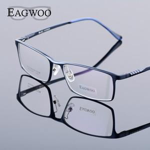 Eagwoo alumínio Homens rosto largo Prescrição Óculos completa Rim Frame ótico Negócios Eye Glasses Luz Big Spectacle MF2351 T200812