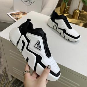 Hommes et toile Calfskin Baskets Mode Europa Mode Sneaker Chaussures de sport New B22 Entraîneur Chaussures tricot technique