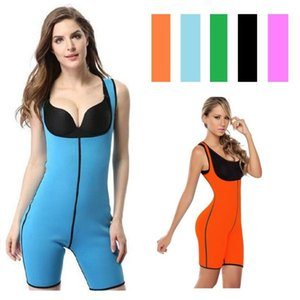 Hot Shapes Running Vest Jumpsuit Neoprene Sports Bodysuit Women Underwear Waist Trainer Model Strap Shapewear Slimming Body Vest