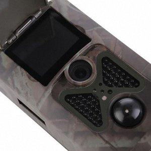 TOPHd 1080P 16MP Hc550A Cámaras Caza 20 pulgadas TFT LCD Monitor de rastro de la caza de la cámara de vídeo campo Scouting cámara de infrarrojos Deer Trail C # 5ej0
