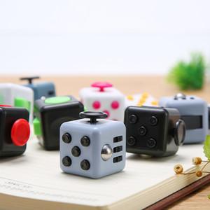 New Fidget Toy Cube americano Descompressão Anti-ansiedade Relief Squeeze Toy Atacado de alta qualidade Cube Resistência DHL frete grátis