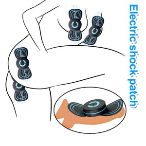 Electro Shock Pads Body Massage Pads Nipple Clamps Medical Themed Toys For Woman Men Electric Stimulate Adult Game Sex Toys