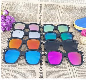 High quality Child Boys Girls Ghostly Skull Sunglasses UV400 Sun eyeglasses Boys Grils shade UV400 Sunglasses kids summer sungla