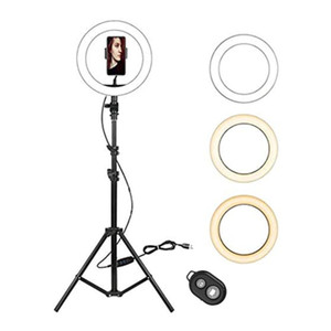 13 pollici selfie Light Ring con il treppiedi per Fotografia Tik Tok YouTube Video LED dimmerabili lampada dell'anello Photo Studio Kit aro de luz