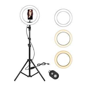 13-Zoll-Selfie-Ringlicht mit Stativ für Tik Tok YouTube Video dimmbare LED-Ring-Lampen-Foto-Studio Kit aro de luz