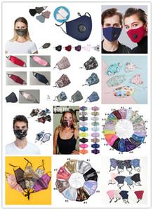 Yeniden kullanılabilir Sıcak bez pamuk tutun yıkanabilir yüz maskeleri valf çocuklar yüz kalkanları filtre payet yüz maskesi maskesi ile çocuklar maskeleri maske Facemask