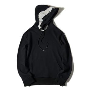 Новая мода Мужские стилиста Толстовки Мужчины Женщины стилиста куртки Mens высокого качества вскользь фуфайки Размер S-XL