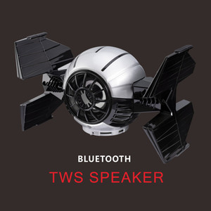 Space No.1 Bluetooth TWS Speaker Support TF Card   FM Radio   Mic with Stereo Sound