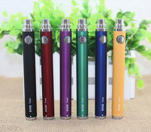 Evod Twist Variable Voltage Battery E cigarette 650mAh 900mah 1100mah 1300mah Battery for ego MT3 CE4 CE5 CE6 Atomizer kits cheap