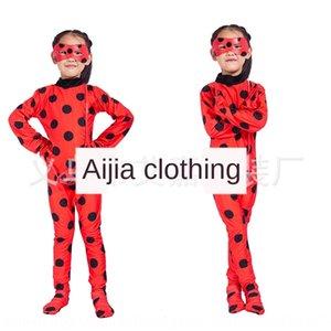 jEzdo Хэллоуин сова Ladybug девушка Reddy костюм взрослых танцевальные Узкие брюки одежды танец костюм платье парик божиих колготки