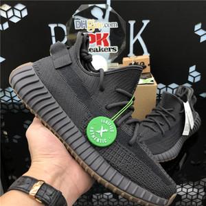 TOP kalite 2020 Kanye West Erkekler Kadınlar 3M Yansıtıcı Yecheil Yeezreel Hiperuzay Lundmark Pompa Statik Zebra Kükürt Asriel'di Ayakkabı Koşu