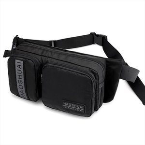 Military Riding Bum Chest Fanny Pack Shoulder Bag Casual Multi Pocket Pouch High Quality Men Nylon Waist Hip Belt Bags