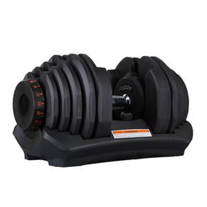 Dumbbell regolabile 5-40kg Allenamenti di fitness Dumbbells Pesi Costruisci i tuoi muscoli Sport Forniture per il fitness Attrezzatura Zza2471 Mare Shipping