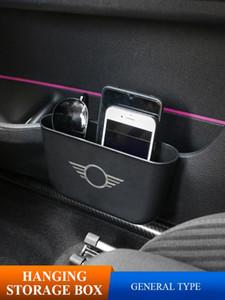 Автомобиль хранения интерьера Box Подвесной крюк сиденье сумка держатель телефона для Mini Cooper F54 F55 F56 F57 R56 R60 R55 Car Styling аксессуары