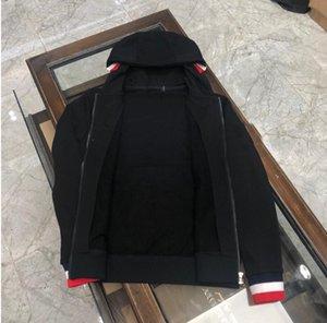 2020 Marque Hommes Concepteurs Vestes Mode Marque Manteau de couleur unie vestes pour hommes automne Zipper Casual Hommes Vêtements de luxe