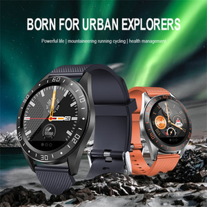 GT105 Waterproof Smart Watch Bracelet Fitness Sports Heart Rate Blood Pressure Monitor Bluetooth Smartwatch For iOS Android 1pcs