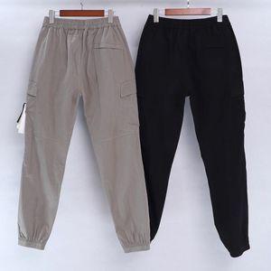 C # P topstoney PIRATA COM # PANY konng gonng Primavera e verão nova marca de moda retro Leggings corrida de multi bolso macacão homens