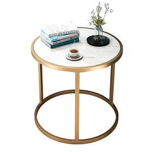 Малый чайный столик Круглый Журнальный столик Мраморный зерна Контрактные