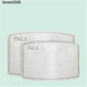 Toz geçirmez PM2.5 Pm Tek Katman Orijinal 2.pm2.5 Filtre Pedler 5 Çekirdek Yedek Maske Pad Paketi