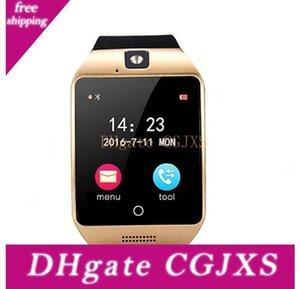 Q18s NFC Akıllı İzle Camera Çağrı Hatırlatma Bluetooth Kol Desteği Sim Tf Kart Dokunmatik Ekran Smartwatch İçin Ios Android Telefon