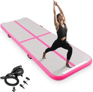 5/6 m Tumbling Mat Gymnastik Air Track Werkzeug Yoga-Matte-aufblasbare Luftbahn für Kinder Erwachsene Matratze Matte tranning