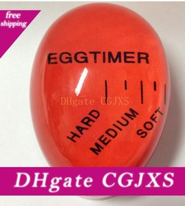 Uovo Volte Cambiare colore Timer Yummy morbida uova sode che cucina Eco -Friendly resina Timer Egg Timer Red Tools