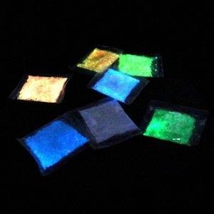 Luminous Particle heller Glühen Sand blaufluoreszierenden Super-Glow In The Dark Sand Spielzeug für Kinder DIY, die Flasche wünscht e02a #