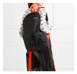 Marque Sac à dos de haute ceinture de toile sac poitrine blanche sacs de taille multi-usage sac Cartable Sac Messenger femmes