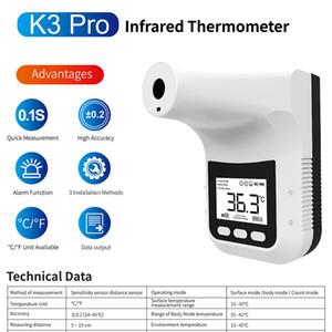 الخيالة مصنع الأوراق المالية ستريت التلقائي ميزان الحرارة K3 برو عدم الاتصال الأشعة تحت الحمراء ميزان الحرارة الرقمي K3Pro العرض LCD البث الصوتي