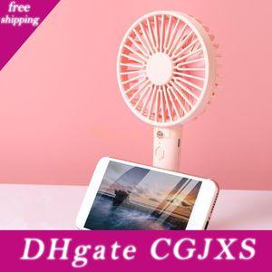 2020 Novo Multifuncional Fan pequeno Mobile Phone Fan Suporte Dormitório Desk presente Mini criativa Fan Dhl gratuito